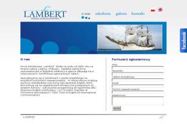 Adrianna Lambert Firma Szkoleniowa Lambert - Nauczanie Języków Lubin