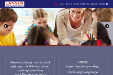 LANGUS Szkoła Języków Obcych - Lekcje Angielskiego Grójec