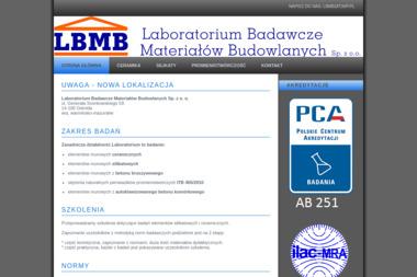 Laboratorium Badawcze Materiałów Budowlanych Sp. z o.o. - Skład budowlany Unieszewo