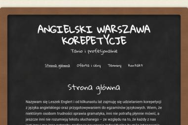 Language Education Sp. z o.o. - Nauczyciele angielskiego Łomża