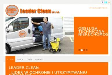 Leader Clean Sp. z o.o. - Firma Ochroniarska Sosnowiec