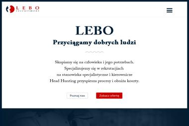 Lebo Recruitment Adriana Legowicz - Agencja marketingowa Wejherowo