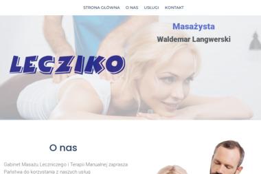 Lecziko - gabinet rehabilitacji leczniczej - Masa偶 Kalisz
