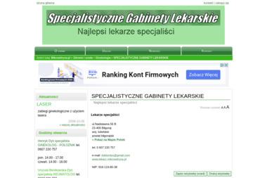 Ginekolog, badanie usg. Ginekolog, usg - Badania Ginekologiczne Biłgoraj
