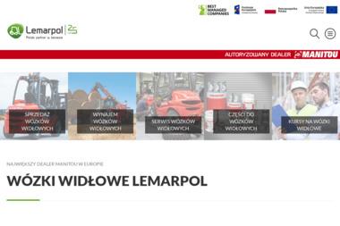 Lemarpol Sp. z o. o. Wózki widłowe - sprzedaż, części, serwis wózków widłowych - Wózki widłowe Andrychów