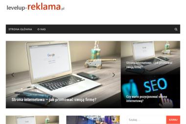 Level Up Producent Reklam Zenon Rybka - Agencja reklamowa Września