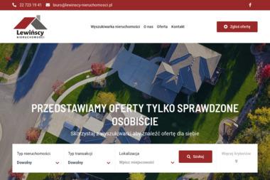 Lewińscy Nieruchomości Hanna Lewińska - Agencja Nieruchomości Piastów