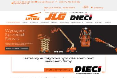 Lifters - Maszyny budowlane Lublin