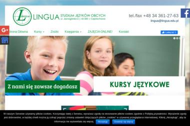 Studium Języków Obcych LINGUA - Kurs niemieckiego Częstochowa