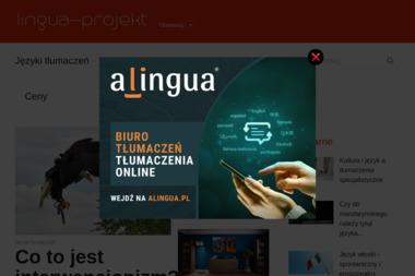Lingua-projekt. Tłumacz niemiecki - Tłumacz Języka Angielskiego Filipów