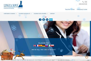 Patronacka Szkoła Języków Obcych Lingua Nova Monika Perreira & Mała Lingua Kursy Języków Obcych Dla - Nauczyciel Angielskiego Piaseczno
