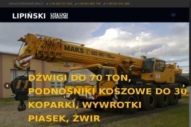 Usługi Dźwigowe S. Lipiński - Wypożyczalnia Zagęszczarek Wałcz