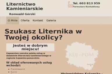 Liternictwo Kamieniarskie Górski Romuald - Kamieniarstwo Smólnik