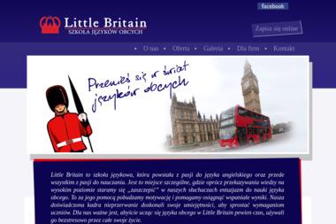 Little Britain Szkoła Języków Obcych Ewa Kaczan Freino - Nauczyciele angielskiego Białystok