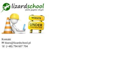 Lizard School. Szkoła językowa - Nauczyciel Angielskiego Józefosław