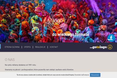 Logo Studio Grafiki Reklamowej Piotr Zaremba - Drukarnia Kołobrzeg
