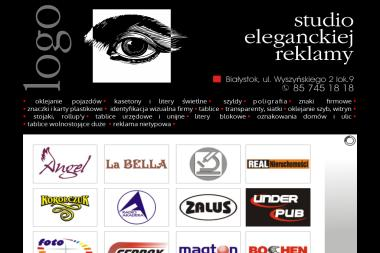 Studio Eleganckiej Reklamy Logo - Ulotki Białystok