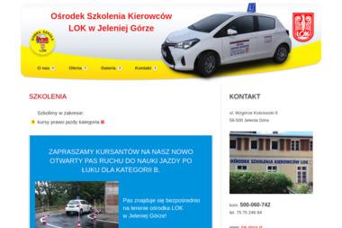 Ośrodek Szkolenia Kierowców LOK - Nauka Jazdy Jelenia Góra