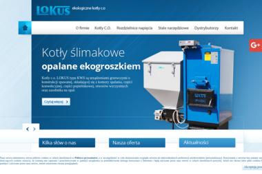 Lokus T.Kozimiński, K.Łyżwa, J.Wiktorowicz Sp.J. - Kotły na Ekogroszek Opoczno