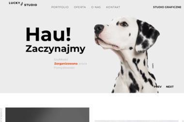 LuckyStudio. Agencja Reklamowa - Wizytówki Łęczyca