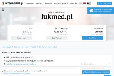 LUKMED - gabinet rehabilitacyjny - Fizjoterapeuta Kraków