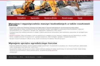 Lurent Łukasz Podolak. Wypożyczalnia maszyn - Zagęszczarki nowe Gorzów Wielkopolski