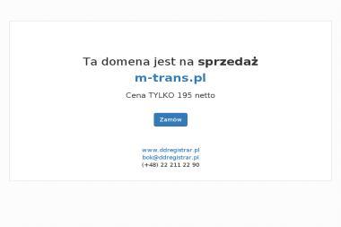 Przedsiębiorstwo Usługowe M-Trans Mirosława i Jan Wiereszko - Firma transportowa Konin