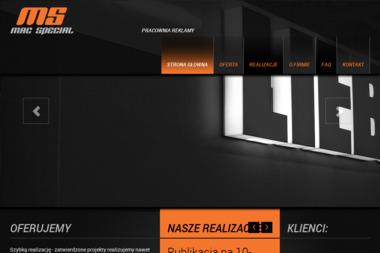 Mac Special. Projekty graficzne - Ulotki Milanówek