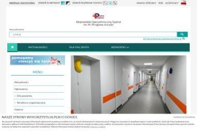 Wojewódzki Specjalistyczny Szpital im. M. Madurowicza w Łodzi - Internista Łódź