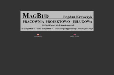 Pracownia Projektowo-Usługowa Magbud Bogdan Krawczyk - Projekty Domów Nowoczesnych Kutno