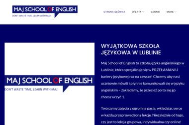 Maj School of English - Szkoła językowa Lublin