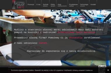 Major Art Sp. z o.o. Agencja reklamy, drukarnia - Poligrafia Lublin