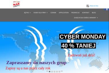 Szkoła językowa MAK - Kurs francuskiego Kraków