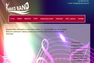 Arkadiusz Makowski PHU Mako Band. Zespół muzyczny, wesele - Zespół muzyczny Borne Sulinowo