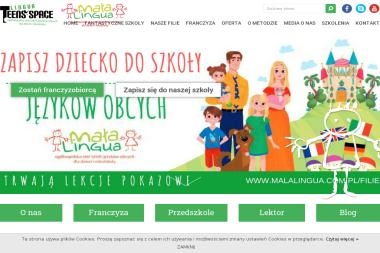 Licencjonowana Szkoła Języków Obcych dla Dzieci i Młodzieży Mała Lingua Lingua Teens Space Magdalena - Szkoła językowa Słupsk