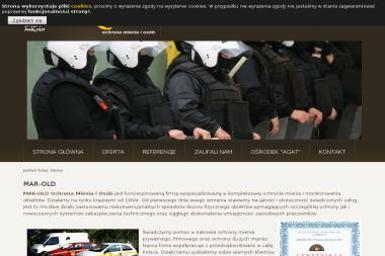 Zdzisław Mularczyk Mar Old Ochrona Mienia i Osób - Agencja ochrony Wrocław