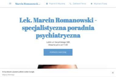 Lek. Marcin Romanowski - specjalistyczna poradnia psychiatryczna - Psycholog Chełm