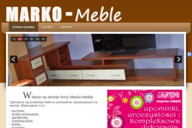 Marko-Meble. Meble - Stolarstwo Maszkowice
