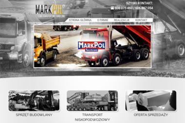 Marek Rożkowicz Firma Transportowo Handlowa Markpol - Roboty ziemne Tworkowa