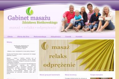 Gabinet Masażu Zdzisław Bieńkowski - Masaże dla Dwojga Nowy Sącz