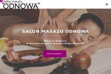 Salon Masażu Odnowa - Masaż Katowice