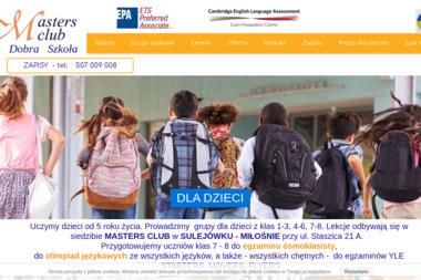 Masters'club - Język Angielski Sulejówek