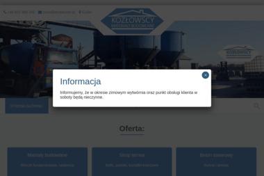 Wytwórnia materiałów budowlanych - Skład budowlany Kuślin