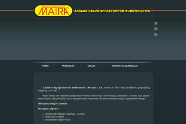 Matra S.A. - Maszyny budowlane Bydgoszcz