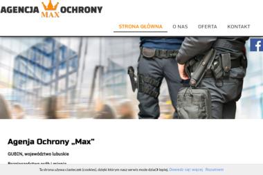 Max Agencja Ochrony - Agencja ochrony Gubin