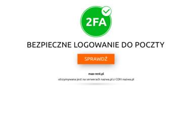 Max Rent Małgorzata Napiórkowska - Wynajem Szalunków Szuć