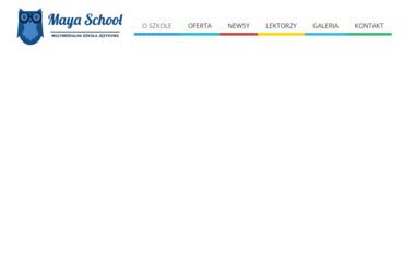 Multimedialna Szkoła Języków Obcych Mayaschool - Nauczyciele angielskiego Puszczykowo