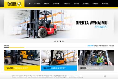 MB Serwis - Wózki paletowe elektryczne Gdynia