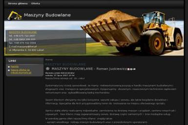 Maszyny Budowlane Przedsiębiorstwo Handlowo Usługowe Familo Import Eksport Juckiewicz Roman - Maszyny budowlane Lubań