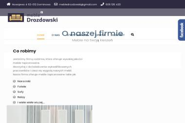 Zakład Stolarsko-tapicerski Leszek Drozdowski - Tapicer Nowojewo